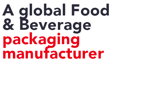 Reducing the impact of packaging through weight reduction in Food & Beverage industry